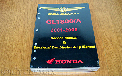 OEM Honda Goldwing Service Manual