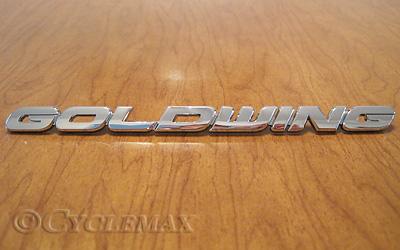 Goldwing GL1800 Side Cover Emblem
