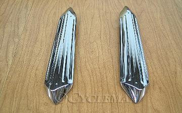 2018 Goldwing Chrome Windshield Strut Covers