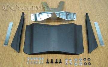 GL1800 Black Rear Fender Extension