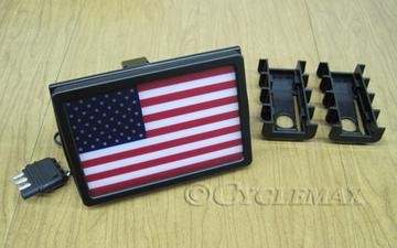 LED Flag Receiver Hitch Cover