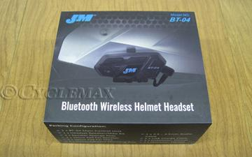Bluetooth BT-04 Elite Series Full Face Headset