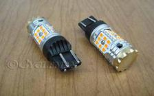 LED 7443 Smart Tek Amber Bulb