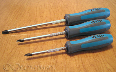 JIS Cross-Head Screwdrivers