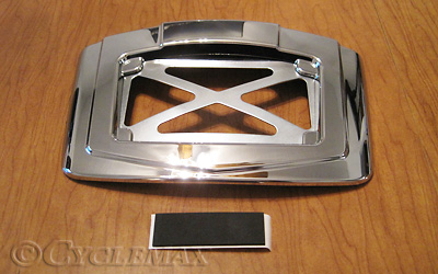 GL1800 Chrome Plated License Plate Frame Rear Panel Accent