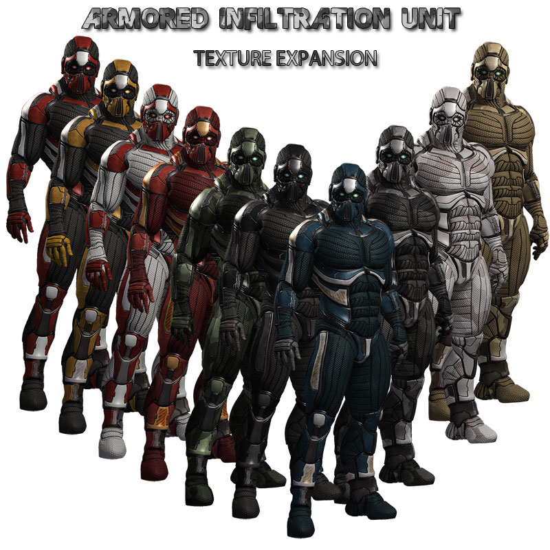 Texture Expansion for AIU Armor Suits