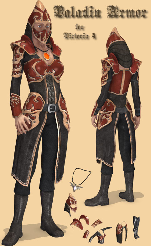 Xurge 3d corporation paladin armor for vicky 4 publicscrutiny Gallery
