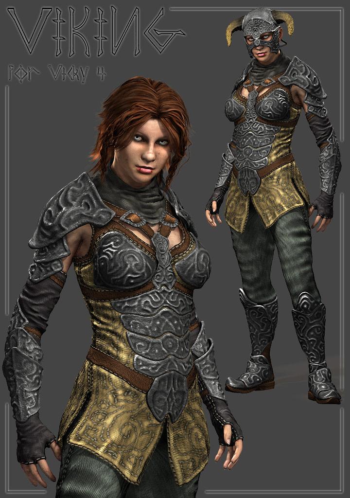 Xurge 3D Corporation - Viking Armor for V4