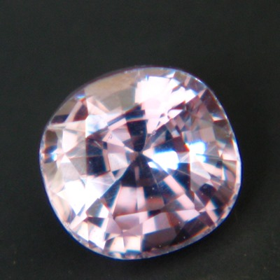 pink-purple unheated sapphire from Ceylon, square cushion