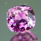 Lavender violet African sapphire