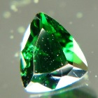 deep green in natural untreated tourmaline