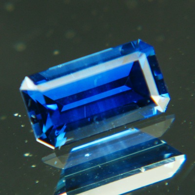 Royal blue Australian sapphire