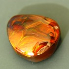 untreated red brown orange agate from Mexico