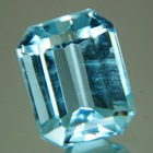 Unheated Aquamarine