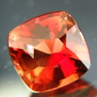 Flame red orange Oregon sunstone