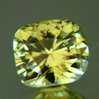 precision cut vanadium chrysoberyl, certified colored by vanadium, collector rarity