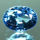 unheated malawi blue sky sapphire oval shape