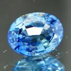 Green blue Ceylon sapphire