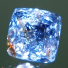 square shape natural sapphire no heat not treated