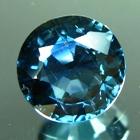 unheated blue sapphire precision cut