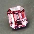 square precision cut extra brilliant spinel from Burma, unheated and natural, no window, IGI report