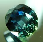unheated blue-green sapphire