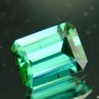 Intense bluish green Afghani tourmaline