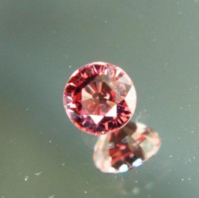 Copper orange Burma spinel
