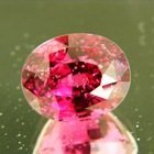 Rose pink red Burma spinel