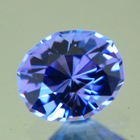 untreated tanzanite