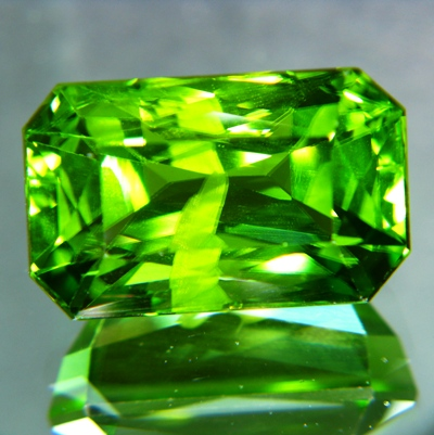 apple green natural Burma peridot over 20 carats