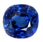 midnight sky blue sapphire no heat no treatment
