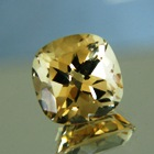 20 carat unheated natural citrine