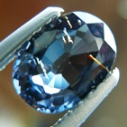 blue color change garnet gemstone untreated and unheated
