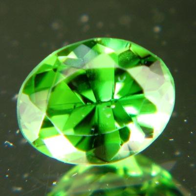 Deep pure green Chrome tourmaline