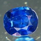 Silky kashmir blue African sapphire