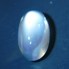 cabochon white moonstone untreated natural from Sri Lanka