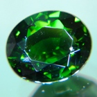plus 2 carat certified chrome tourmaline