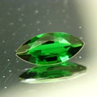 clean 2 carat chrome tourmaline