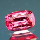 Lively orange pink Ceylon Padparadsca spinel