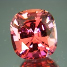sunset red tourmaline unheated untreated