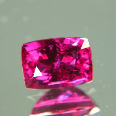 rose red unheated ruby mozambique