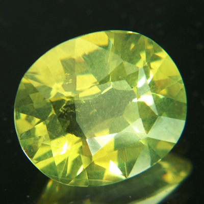 12 carat precision recut chrysoberyl with colorshift