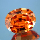 Gold copper Ceylon Zircon.