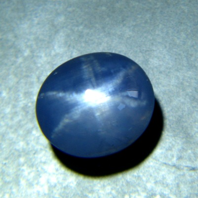 violet blue Ceylon star Sapphire oval