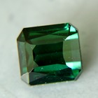 teal tourmaline from kashmir free of treatments, cubic shaped