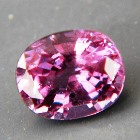 oval color change garnet purple to pink in full size and clarity with potential pair to recut