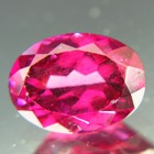oval rhodolite with color change certificate