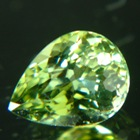 grass green tourmaline free of treatments for a delicate pendant