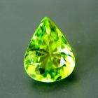 drop lime green green pakistani peridot free of treatments